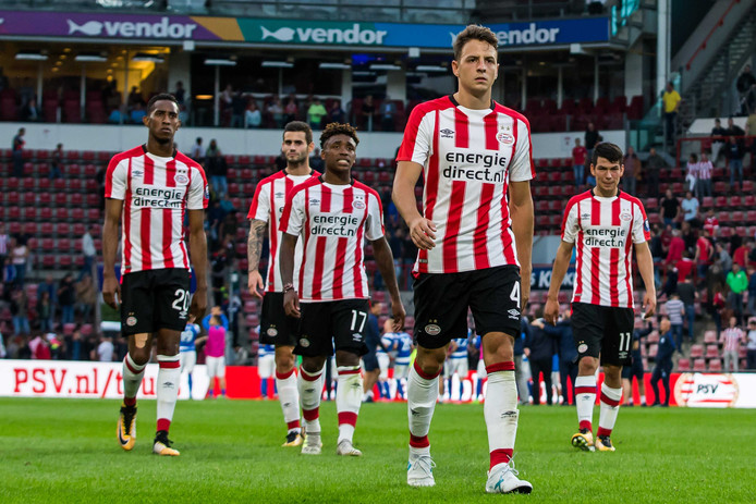 PSV ging er donderdagavond tegen Osijek af in eigen huis: 0-1/