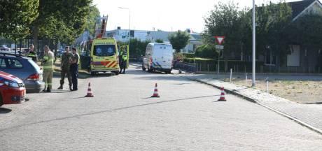 Politie: 'Motorrijder in tankshop is bewoner brandend huis Huissen'