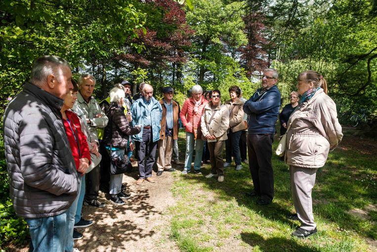 Een dertigtal senioren kwam met het Seniorenpad kennismaken.
