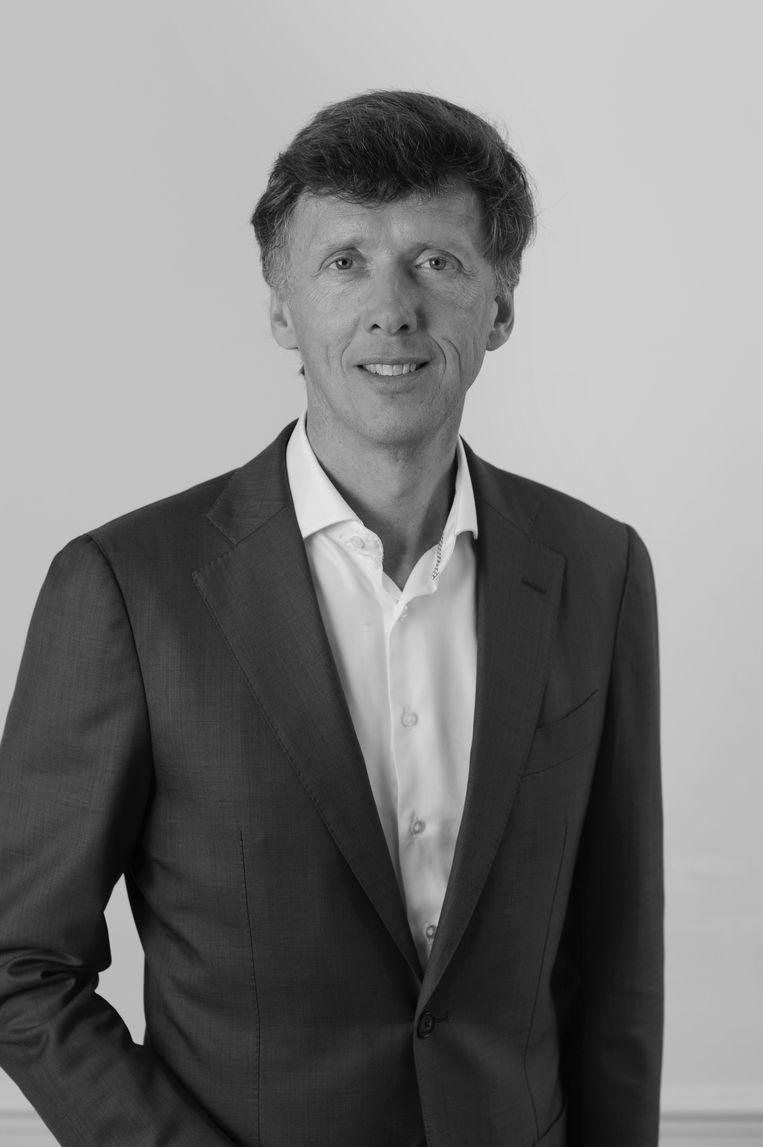 Frans van Vliet, lid van de stadsdeel-commmissie Oost voor de VVD. Beeld