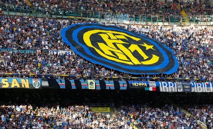 Fans van Inter.