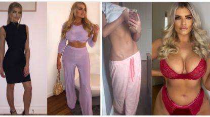 Influencer wordt rolmodel na voor en na-foto waarbij ze 13 kilo bijkwam