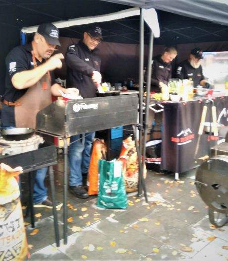 Erik uit Helvoirt is kampioen barbecueën met 'Bad to the Bone'