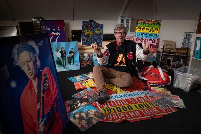 Rolling Stones-fan Jelle Tadema mag een bijdrage leveren aan de expo in het Groninger museum over de rockband.
