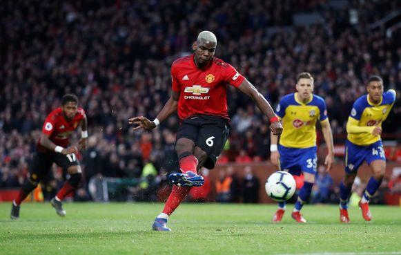 Pogba gaf de penalty...