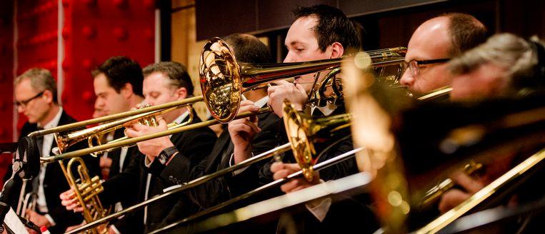 Het is het Metropole Orkest gelukt om hun Grammynominatie om te zetten in winst.  Beeld ANP Kippa