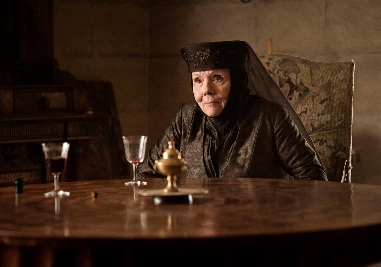 """Pour la jeune génération, Diana Rigg restera dans les annales grâce à son interprétation d'Olenna Tyrell dans """"Game of Thrones"""""""