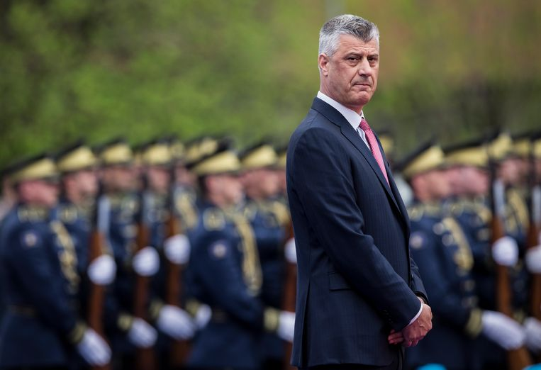 Kosovar President Thaçi charged with war crimes against Serbia | De Volkskrant