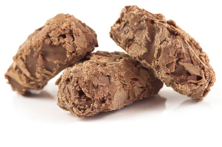 Bernadetteschool verkoopt truffels.