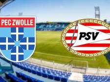 PEC en PSV spelen topper van het weekend