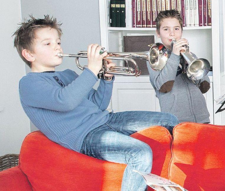 Hilda (32) en Rutger (36) uit Utrecht hebben naast twee zoons van 8 en 9 jaar een pleegdochter van 16 in huis. Beeld Maartje Geels