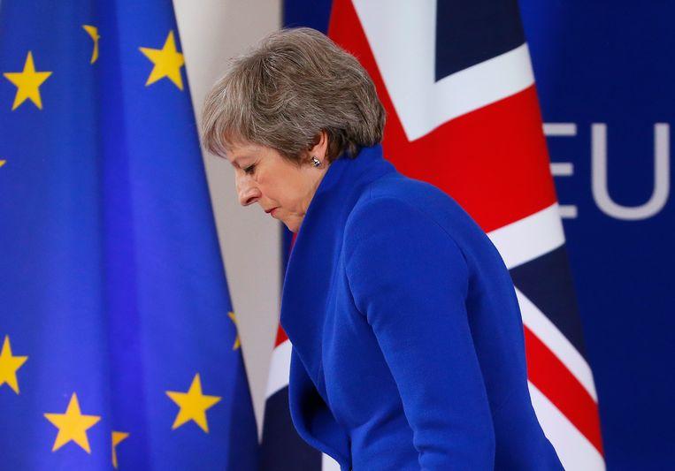 Theresa May. Beeld EPA