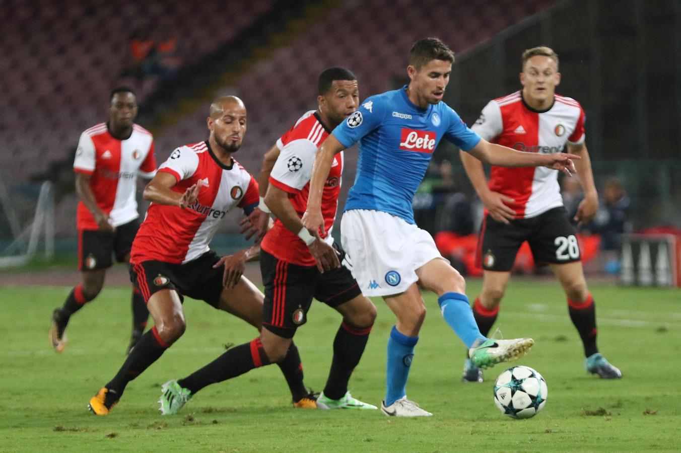 Feyenoord verloor in de Champions League van vorig jaar met 3-1 bij Napoli.