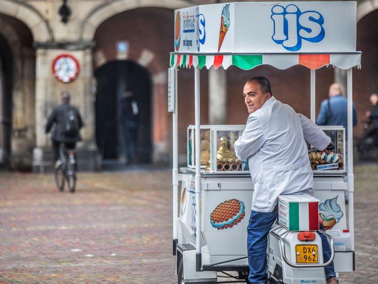 Hoe houden we ijscoman Moes in de Haagse binnenstad?