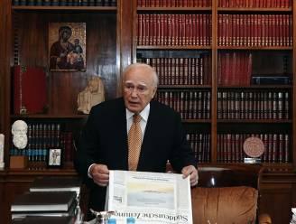 """""""Griekse president ijvert voor zakenkabinet"""""""
