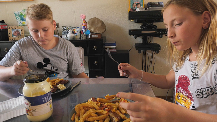 Bij de familie Van Rossum eten niet alle kinderen even goed.