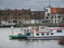 Ook dit is Gent: witte ganzen in Tolhuisdok