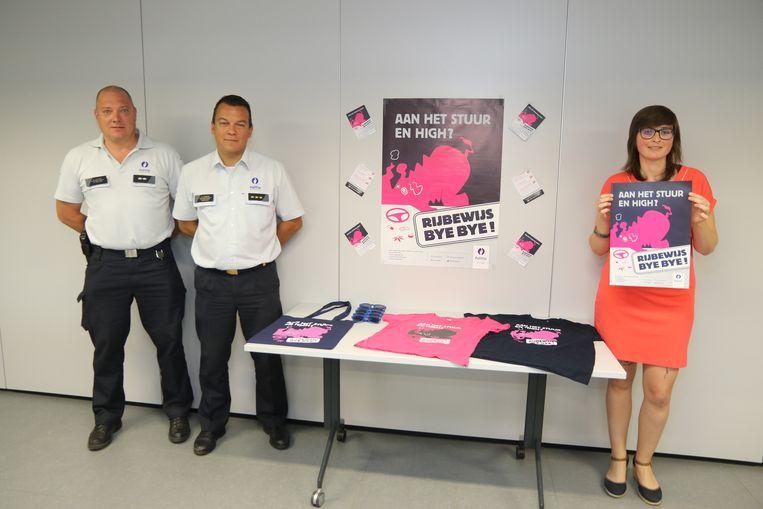 Nieuwe campagne Arro Ieper tegen drugs in het verkeer: aan het stuur en high? Rijbewijs bye bye.