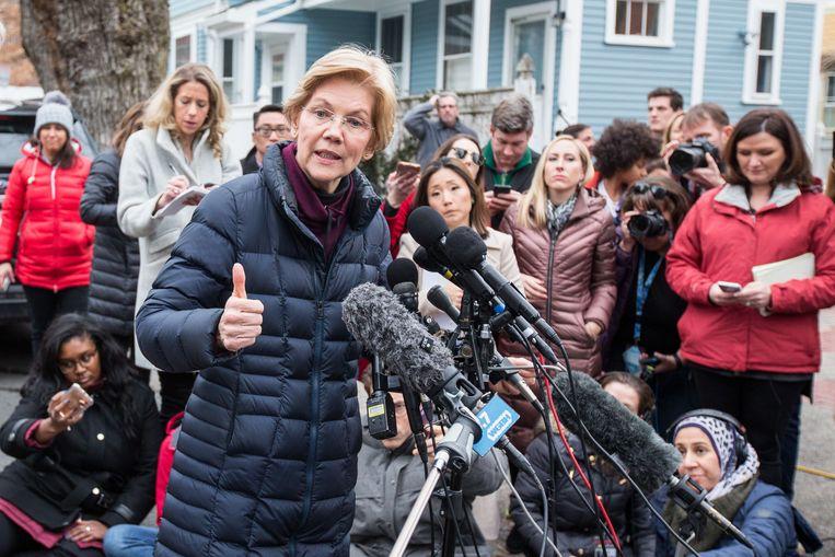 De Democratische senator Elizabeth Warren (69) is zeker niet kansloos en komt niet onbeslagen op het ijs.