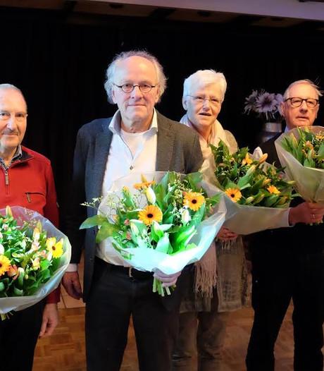 Vrijwilligers Oald Heldern Hellendoorn in het zonnetje gezet