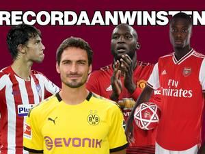 Tussenbalans: clubs breken massaal transferrecords
