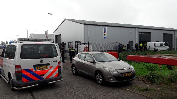 Op bedrijventerrein De Smokkelhoek in Kapelle is woensdag weer een integrale controle gehouden.
