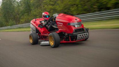'Grasmaaier' breekt snelheidsrecord: in 6 seconden naar 160 kilometer per uur
