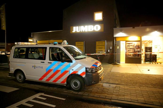 Overval op Jumbo supermarkt in Lage  Zwaluwe