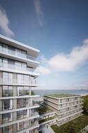 Appartementen met zicht op zee.