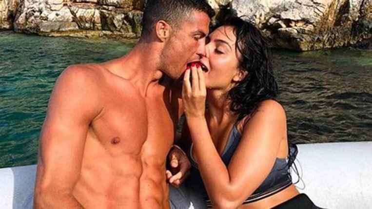 Vorige zomer op vakantie, vlak voor Ronaldo zijn transfer naar Juventus afrondde.