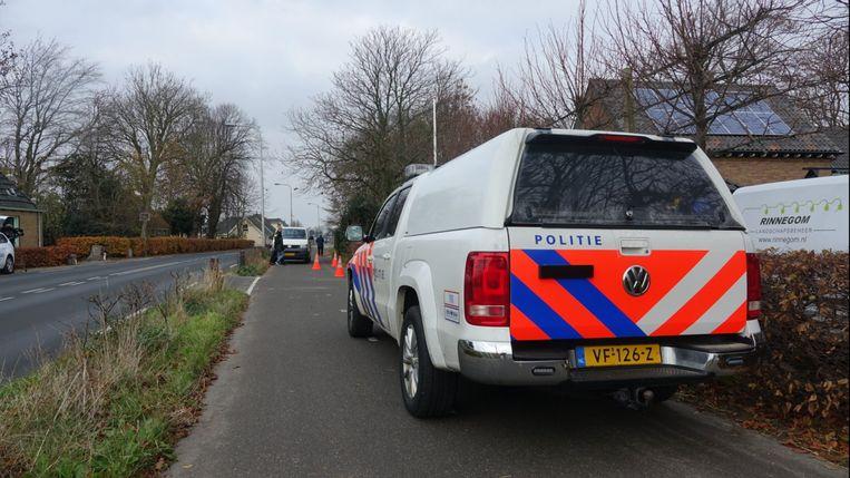 Onderzoek naar een zaak van vrachtwagenchauffeur René V. in Egmond aan den Hoef. Beeld DNP.NU