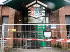 Brandstichting bij stadion en trainingscomplex NEC, recherche doet onderzoek