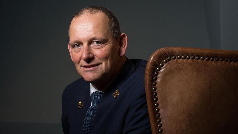 Ron Stoevelaar: 'Ik vind het belangrijk dat mensen zich verbonden voelen met de historie van de stad' Beeld Mats van Soolingen