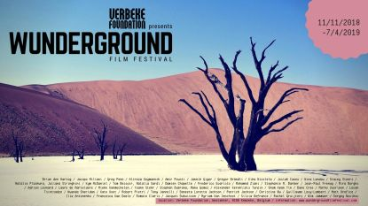 Eerste editie van Wunderground Film Festival bij Verbeke Foundation