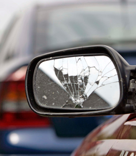 Autospiegels vernield tijdens Alphense optocht, daders nog niet gepakt