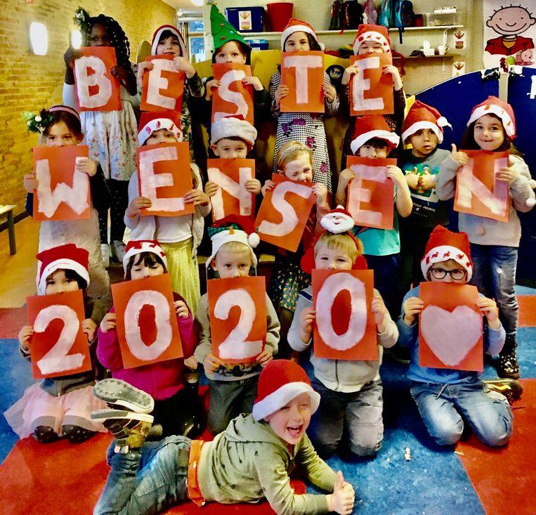 Net zoals elk jaar zetten kleuterschool Duizendvoet en lagere school OLVC zich in voor de Warmste Week.