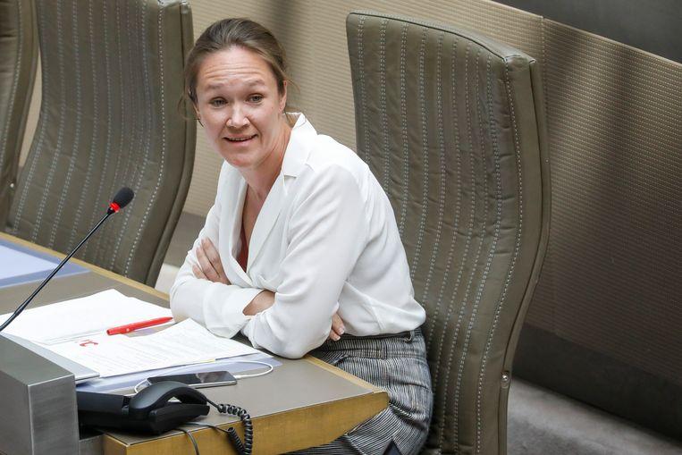 Sp.a-fractieleider Hannelore Goeman.