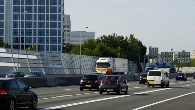 Op de A10, de ring van Amsterdam. Beeld ANP
