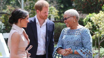 Prins Harry en Megan Markle beëindigen Afrikareis