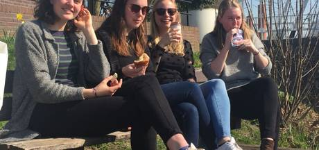 Zo luncht Utrecht in de lentezon