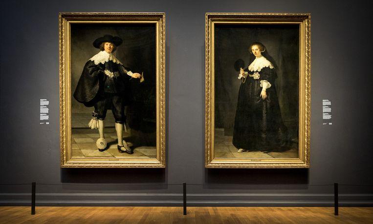 Marten en Oopjen zijn te zien in het Rijksmuseum Beeld anp