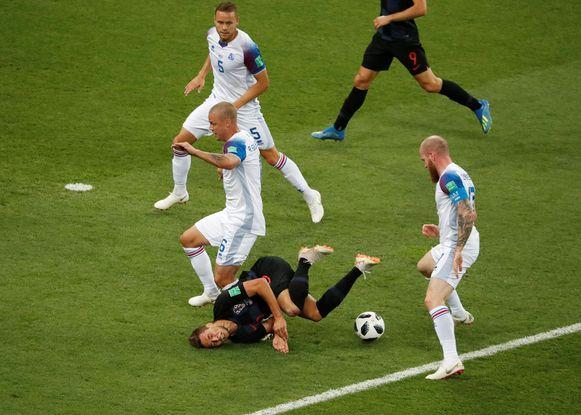 Pjaca verwarde voetbal even met breakdance.
