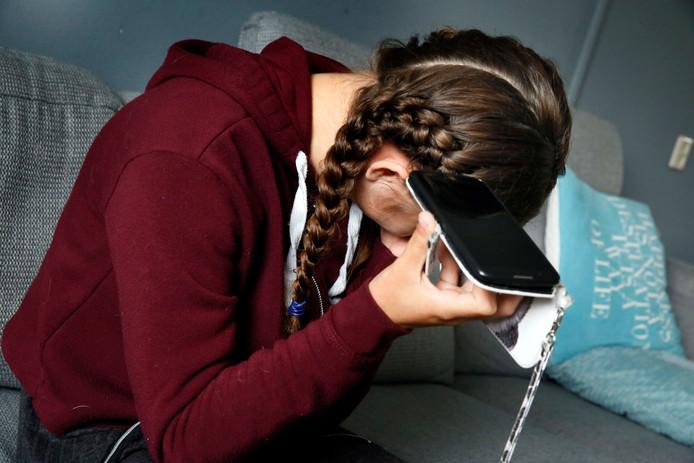 Leerlingen moeten als gevolg van een technische storing langer wachten op het verlossende telefoontje.