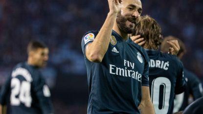 Real profiteert optimaal van misstap Barça: Benzema blinkt uit, Courtois moet zich wel tweemaal omdraaien