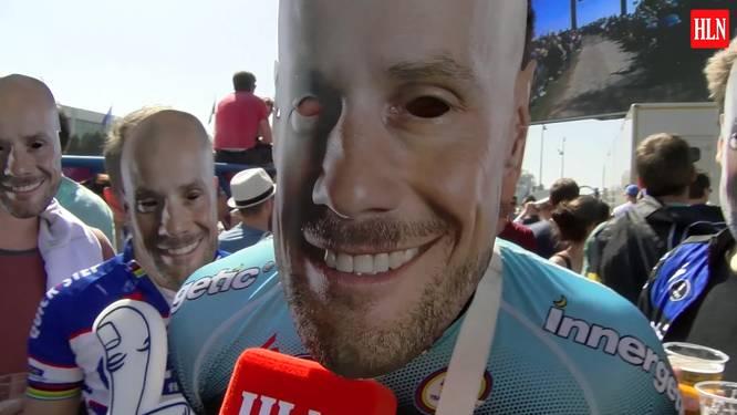 """Onze videoman bij eerste Boonen-fans in Roubaix: """"Straks streaken op de Vélodrome"""""""