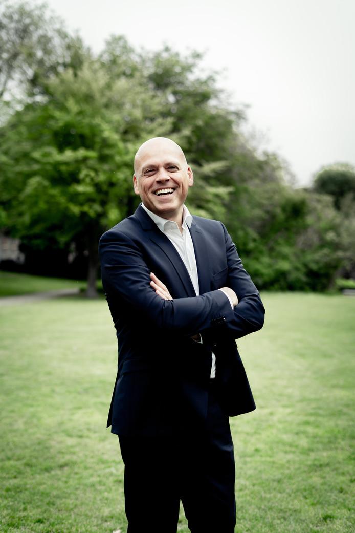 Ruud van Meijel, de nieuwe directeur van het Chassé Theater in Breda.
