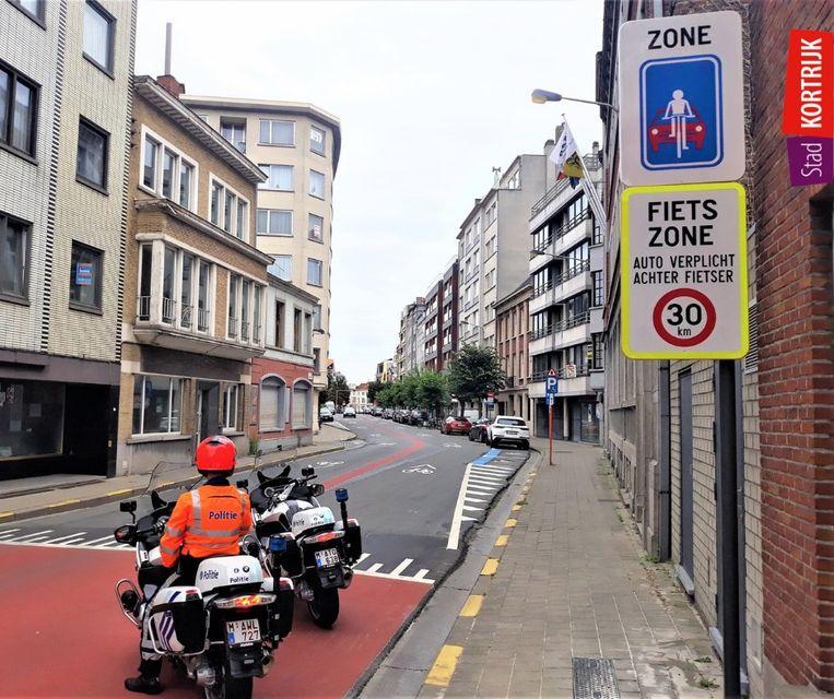 De politie controleert vanaf deze week in de fietszone. Wie niet in regel is, krijgt een GAS-boete van 58 euro.