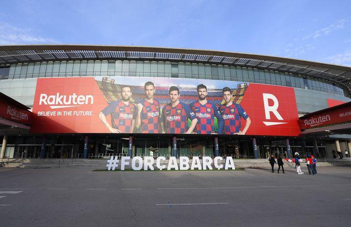 De omzet van FC Barcelona zit nog steeds in de lift.