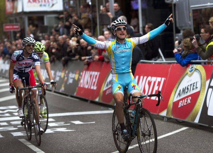 Gasparotto wint de Amstel Gold Race 2012.