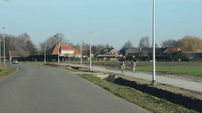 Fietspad Nieuwstraat in afwerkingsfase: fietsverbinding wordt al gretig gebruikt